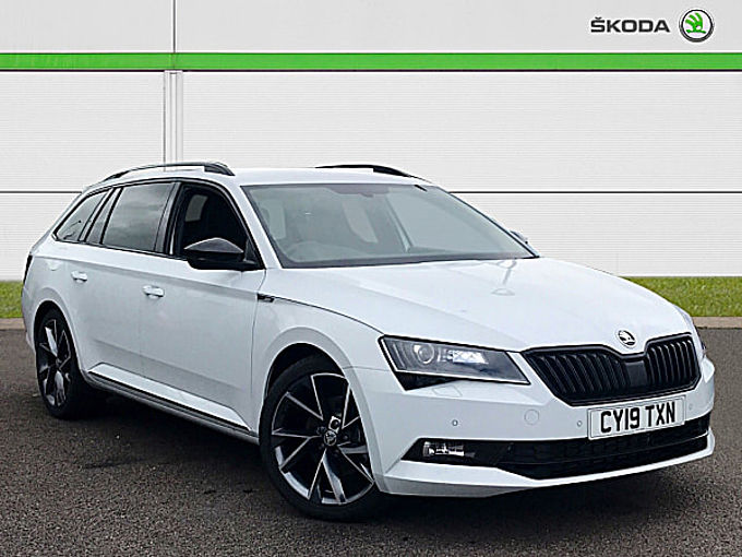 SKODA Superb 2.0 TDI SCR (190ps) SportLine DSG 5D Estate